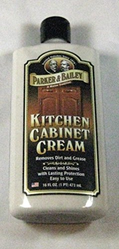 Parker & Bailey Kitchen Cabinet Cream 16 Fl. Oz. Removes Dirt and Grease (Cabinet Cream compare prices)