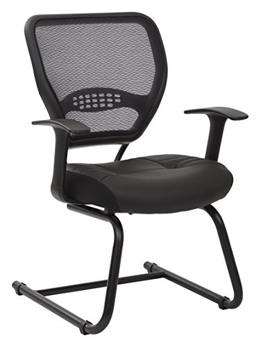 space-seating-professional-airgrid-dark-back-and-padded-black-eco-leather-seat-fixed-arms-and-lumbar