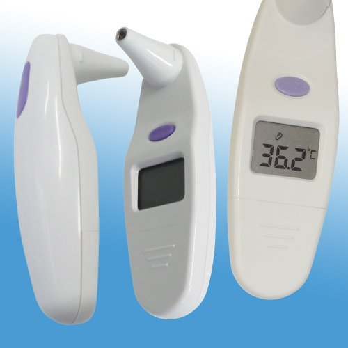 Digital Infrared Ear Thermometer - One Of The Best Selling Digital Ear Thermometers - Great Baby And Infant Ear Thermometer - Perfect In-Ear Thermometer For Kids - Surpasses Those Old Oral Thermometers - Hassle-Free 100% Satisfaction Guarantee!