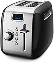 KitchenAid KMT222OB 2-Slice Digital Toaster, Onyx Black
