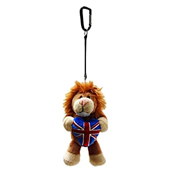 LZ Flag Keyring Plush Lion 10cm