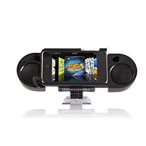Livespeakr Ultraportable Speaker System for iPod/iPhone (Black)