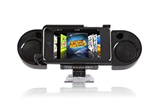 Livespeakr Ultraportable Speaker System for iPod/iPhone (Black)
