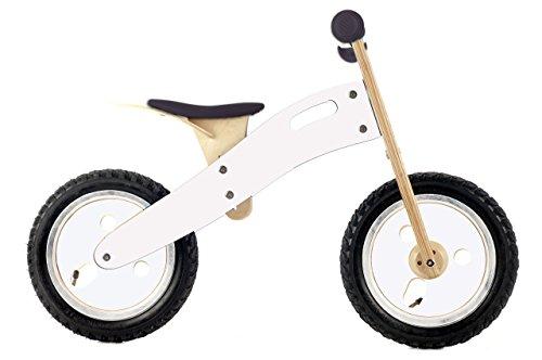 Smart Gear Graffiti Smart Balance Bike Ride On, White front-695917