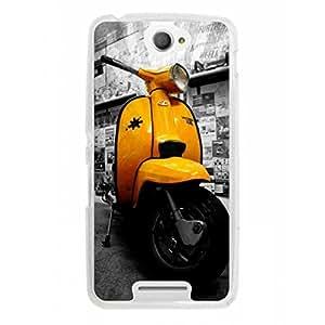 a AND b Designer Printed Mobile Back Cover / Back Case For Sony Xperia E4 (SON_E4_637)