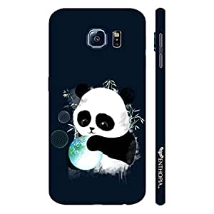 Samsung Galaxy S6 Baby Panda designer mobile hard shell case by Enthopia
