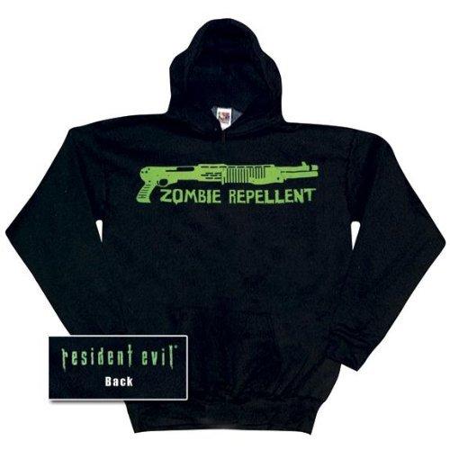 Old Glory Mens Resident EvilRepellent Pullover Hoodie / Black - XX-Large Black
