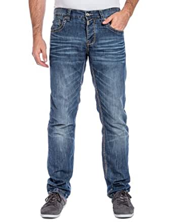 Timezone Herren Slim Jeans 26-5535 EduardoTZ, Gr. W28/L32, Blau (indigo water 3629)