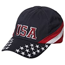 Flag Caps - Navy USA Star W31S56C