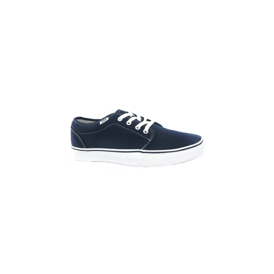 7850fb91c6 Vans 106 Vulcanized Navy Womens Trainers Shoes on PopScreen