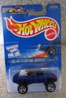Mattel Hot Wheels 1997 Blue Streak Series 1:64 Scale Blue OFF-ROAD ATTITUDE Die Cast Car 2 OF 4