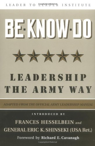 Be, Know, Do: Leadership the Army Way: Adapted from the...