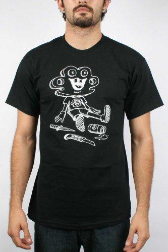 10 Deep- Problem Child Mens T-shirt in Black , Size: X-Large, Color: Black