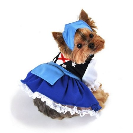 Domestic Pet Happy Halloween Oktoberfest Gretchen Beer Maiden Dog Costume-Large