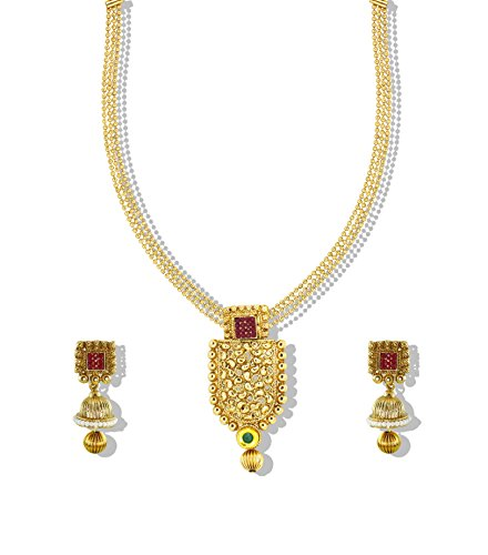 Zaveri Pearls Designer Necklace Set-ZPFK4986