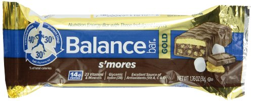 Balance Bar Gold S'Mores, 1.76 Ounce, 15-Count Bars