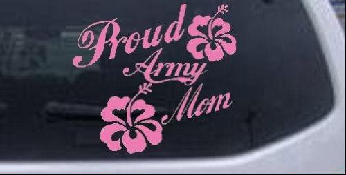 "PROUD ARMY MOM//Military LapTop Car Window vinyl decal sticker 5 1//2/"""