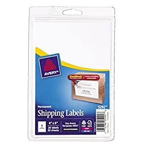 staples white mailing labels template - avery permanent shipping labels 4 x 6 inches