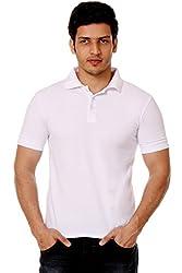 Men's Polo T shirt (Medium)_TM-1591WHITE-M