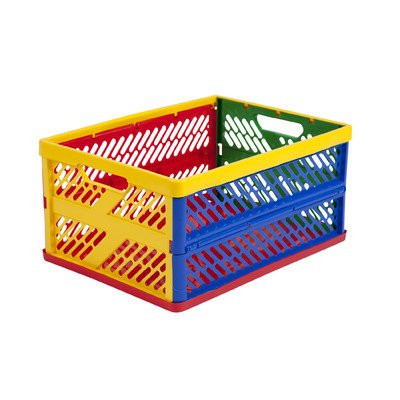 Large Ventilated Collapsible Crate [Set Of 12] front-994294