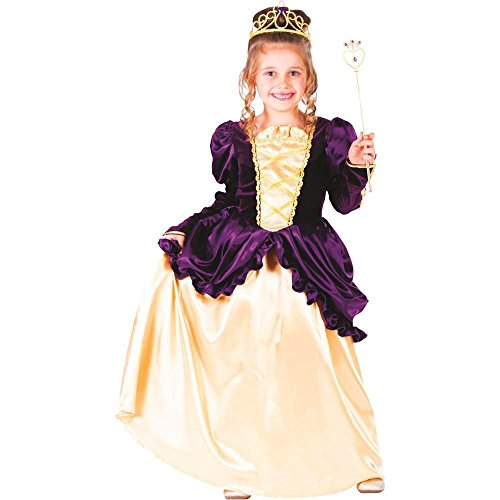 Purple Southern Belle Ball Gown Kids Costume