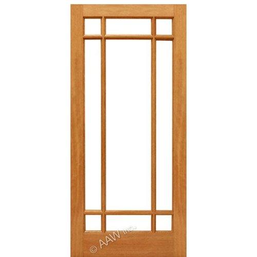 French Doors Mahogany French Door 9 Marginal 32''x80''