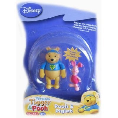 Picture of Fisher Price Disney My Friends Tigger & Pooh - Pooh & Piglet Figure Pack (B001CA9AQ2) (Fisher Price Action Figures)