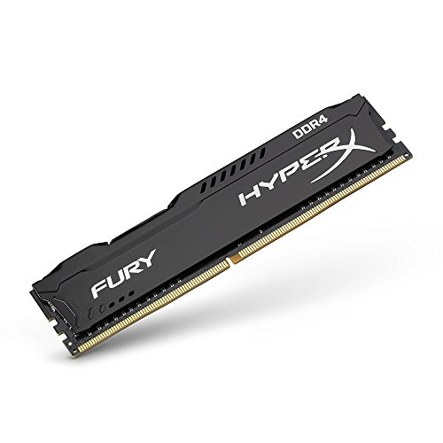 Kingston HyperX Fury Black 8GB 2133MHz DDR4 RAM (Black)