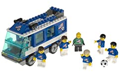 Lego 3406 Soccer Team Transport Bus