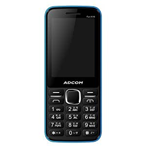 ADCOM X16 (FUN) Dual Sim Mobile-Black & Blue