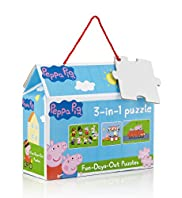 3-in-1 Peppa Pig Puzzle Game