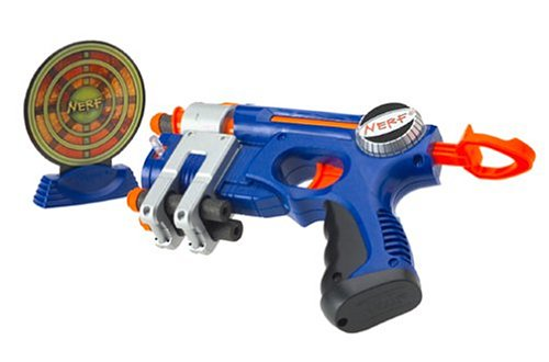 Blue EX-3 N Strike Nerf Pistol Nite Finder