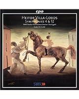 Villa-Lobos: Symphonies 4 & 12