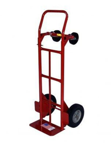 Milwaukee 47180 800-Pound Capacity Convertible Hand Truck with 10-Inch Ace Tuf Wheels