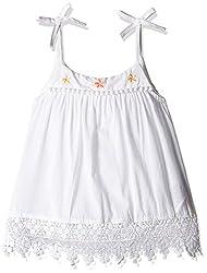Pumpkin Patch Baby Girls' T-Shirt (S5TG15006_Clean White_2)