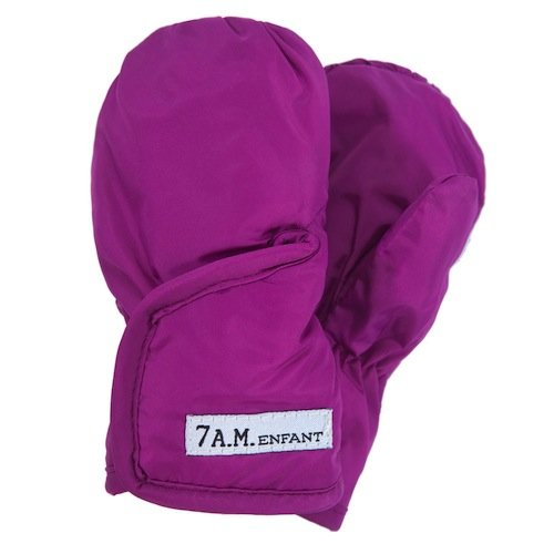 7 A.M. ENFANT Classic Mittens 212, Grape, Medium