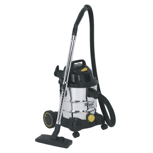 sealey-20l-1250w-110v-vacuum-cleaner-industrial-wet-and-dry-stainless-bin