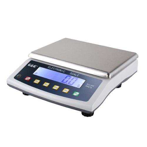 GundG-PLC-Bilancia-di-precisione-da-tavolo-per-laboratorio-industria-oro-30kg1g-utilizzabile-a-batteria