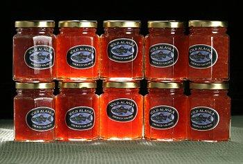 Case of 12, 1.75oz. Jars Smoked Salmon Caviar