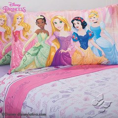 Disney Princess Magic Softy Comforter Bedspread Sheet Set Twin 7 PC Girl Cinderella Ariel Belle LIMITED EDITION