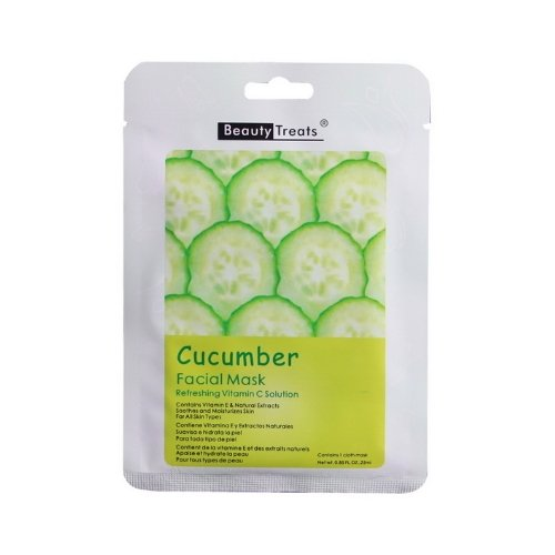 BEAUTY TREATS Facial Mask Refreshing Vitamin C Solution - Cucumber