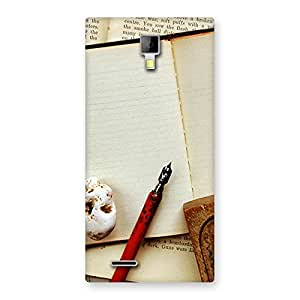 Little Diary Multicolor Back Case Cover for Micromax Canvas Xpress A99