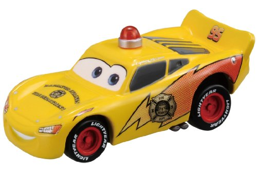 Takara Tomy Tomica Disney Cars C-31 rescue Go Go McQueen (patrol type) - 1