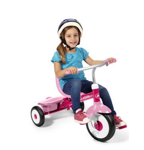 Radio Flyer 4-in-1 Trike, Pink