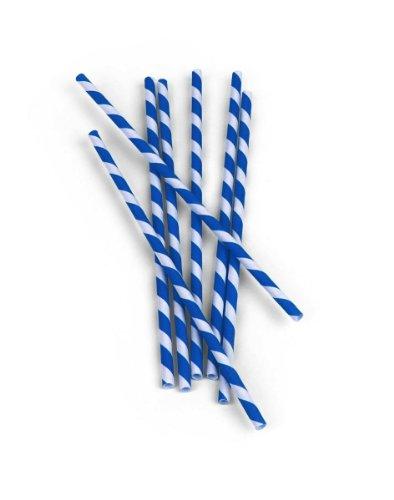 Classic Paper Straws - Red Stripe