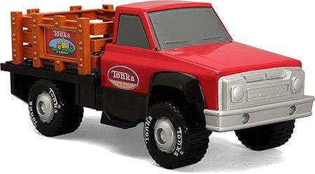 Retro Classic Steel Stake Truck
