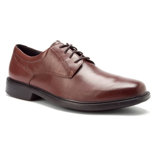 Bostonian Men's Wendell Brown Smooth Leather Oxford 10 W (EE)