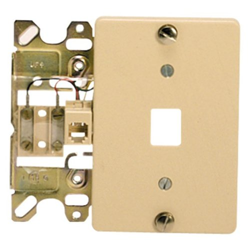 Suttle 1 - Mod Wall Jack 4 Conductor Ash