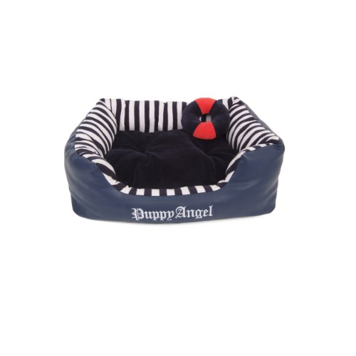 puppy-angel-french-nautica-bed-large-navy