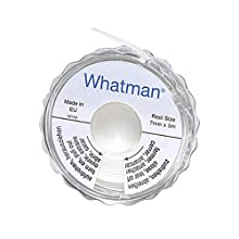 Whatman 2602-500A Specialized Potassium Iodide Test Paper Reel Dispenser, 5m Length x 7mm Width